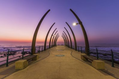 Umhlanga pier, Durban, South Africa