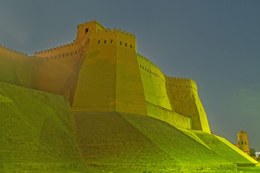Kunya-ark, Uzbekistan