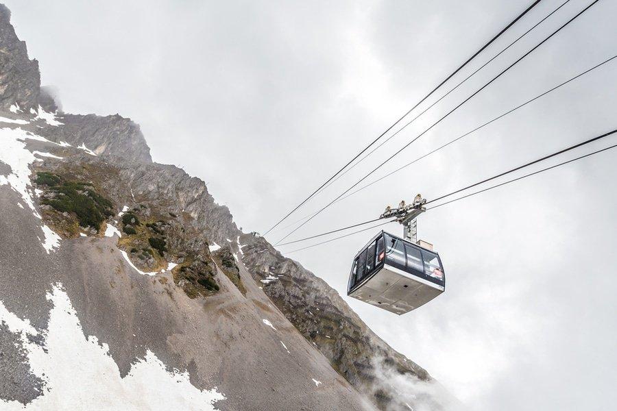 Nordketten Cable Car, Innsbruck, Austria