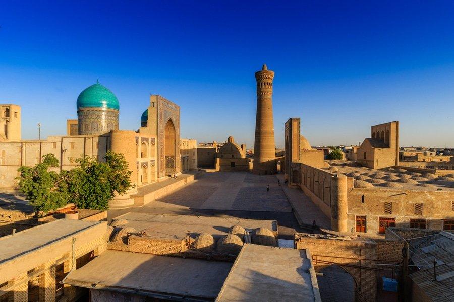 Poi Kolon, Bukhara, Uzbekistan