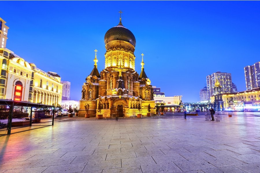 Saint Sophia Cathedral, Harbin, China