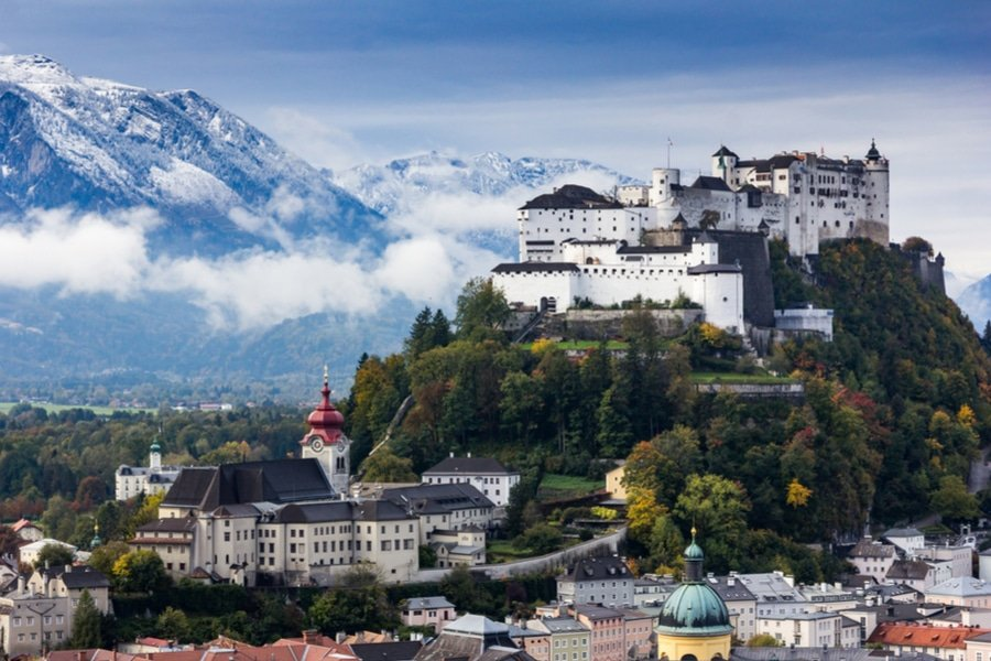 3 days in the Baroque city of Salzburg, Austria