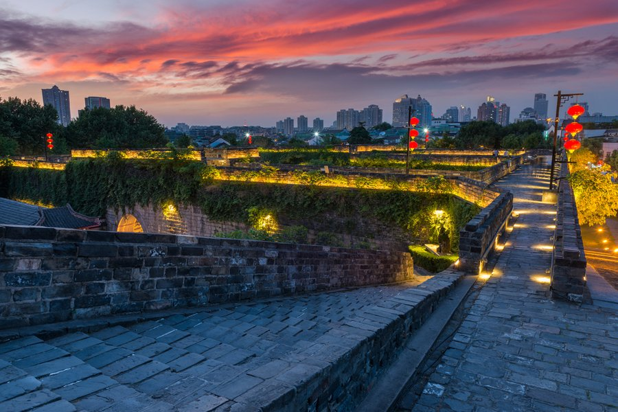 city wall, Nanjing, China