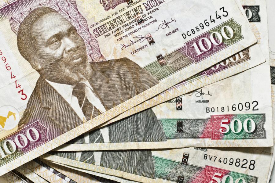 Kenyan Shilling banknotes