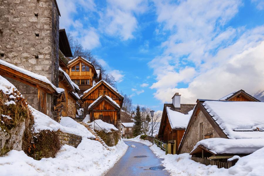 Old town Hallstatt, Austria