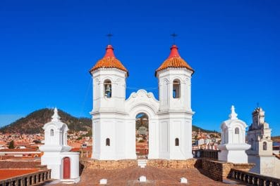 Church of San Felipe Neri (Oratorio de San Felipe de Neri) in Sucre, Bolivia