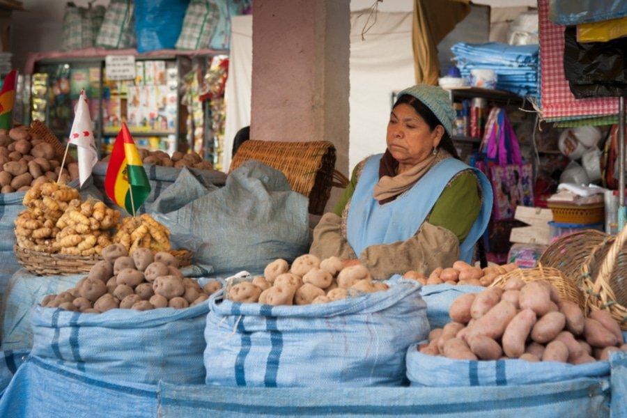 Mercado Central, Sucre, Bolivia