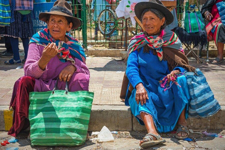 Sunday market,Tarabuco, Bolivia