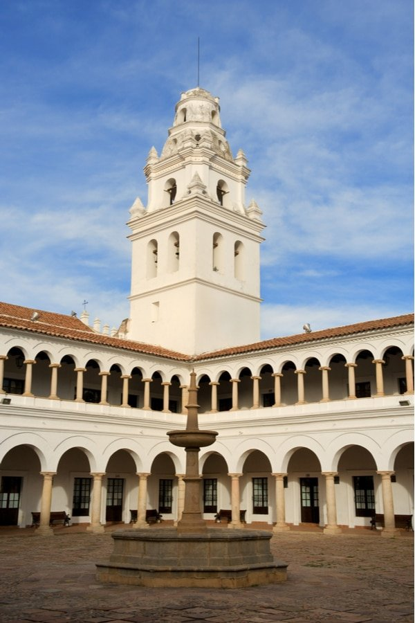 Universidad de San Francisco Xavier de Chuquisaca, Sucre, Bolivia