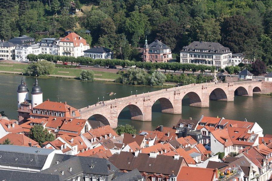 Alte Brucke, Heidelberg, Germany
