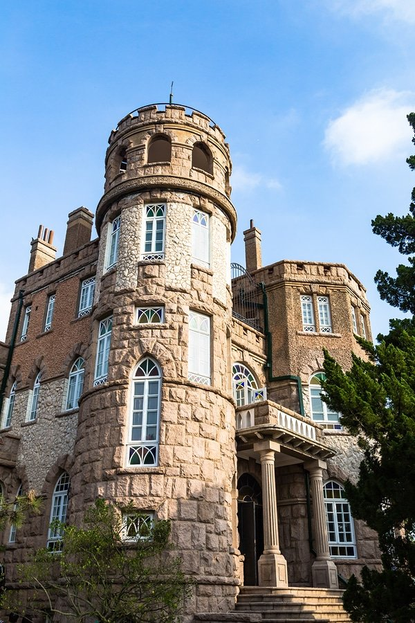 Granite Mansion in Badaguan area, Qingdao, China