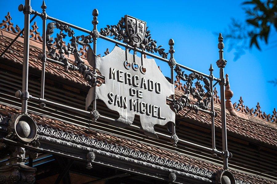 Mercado de San Miguel - famous market in Madrid Spain