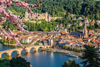 View of Heidelberg, Germany