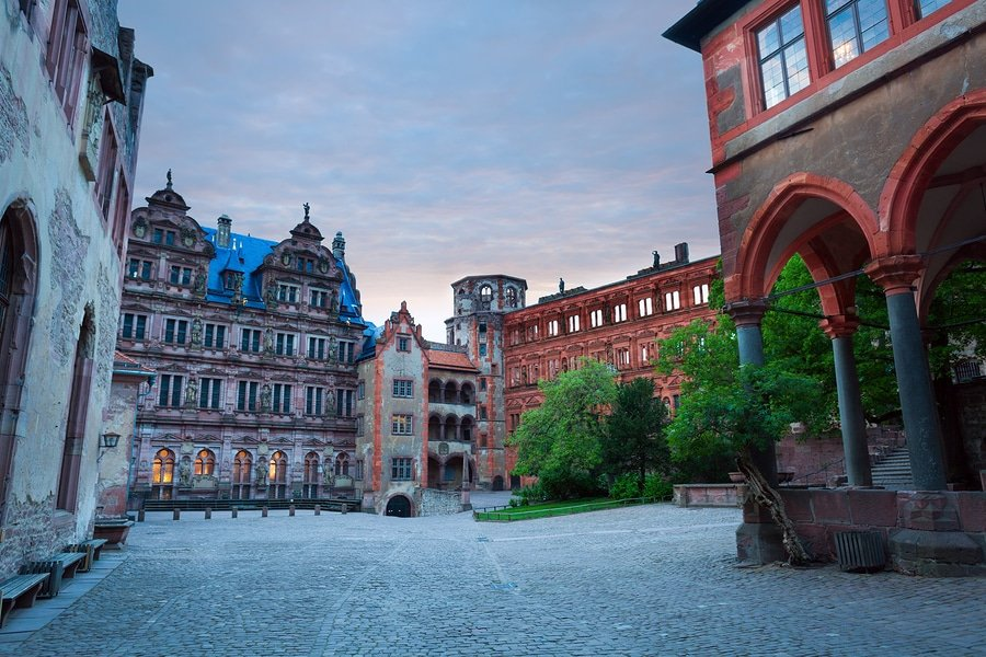 Inner square of Schloss Heidelberg