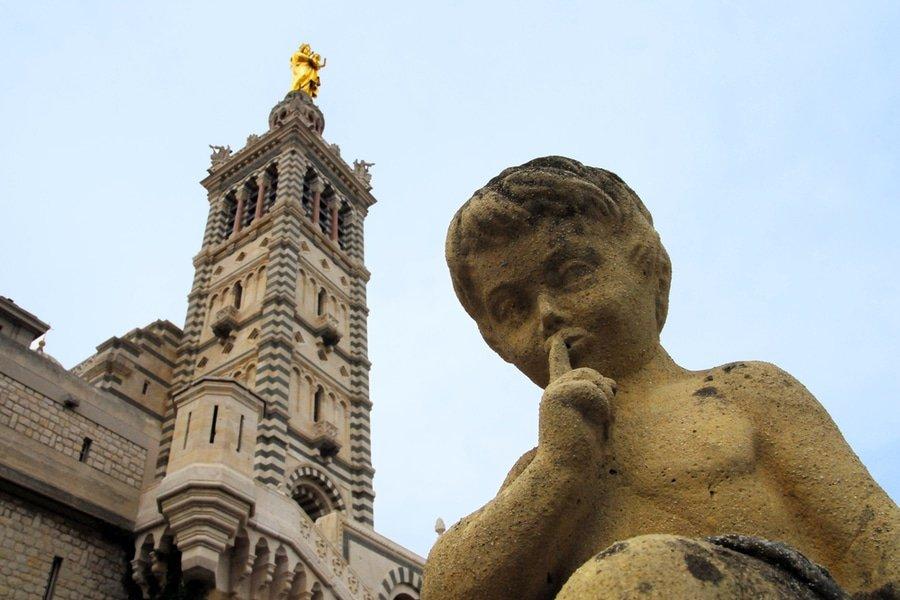 Basilique Notre Dame de la Garde, Marseille. France