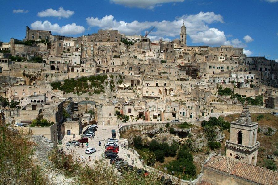 Sassi di Matera. Italy