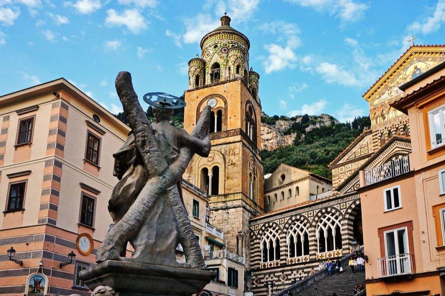 Amalfi Cathedral, Amalfi coast, Italy