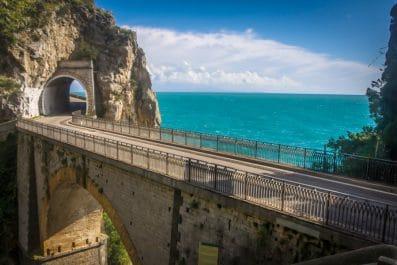 Scenic Coastal Road, Amalfi, Italy