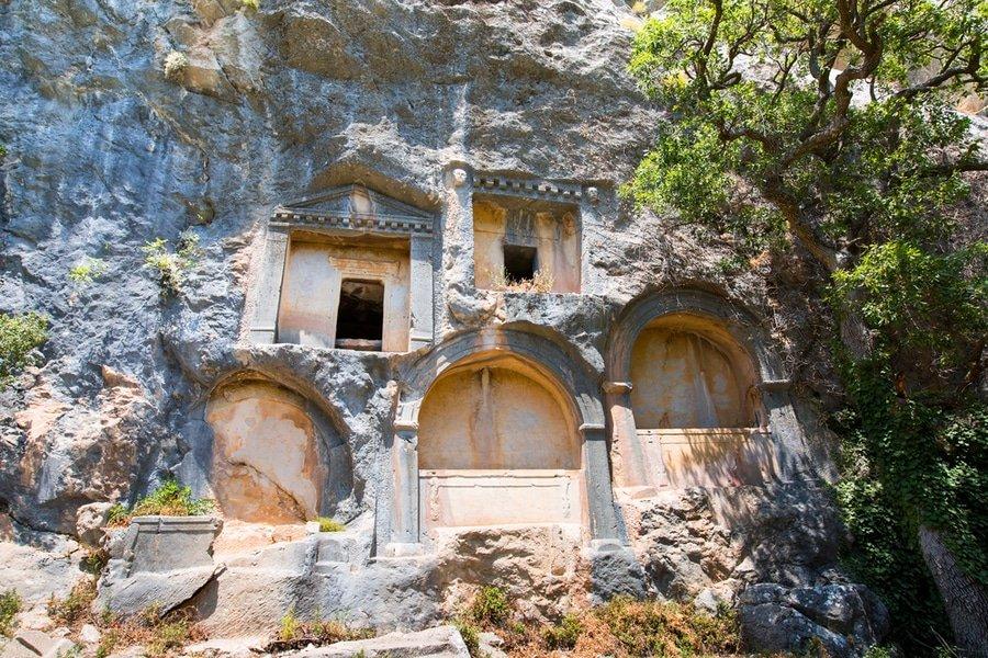Termessos tombs, Antalya, Turkey