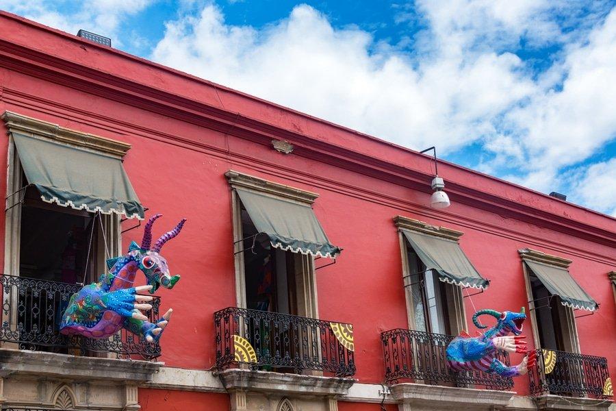 Barrio de Jalatlaco, Oaxaca, Mexico
