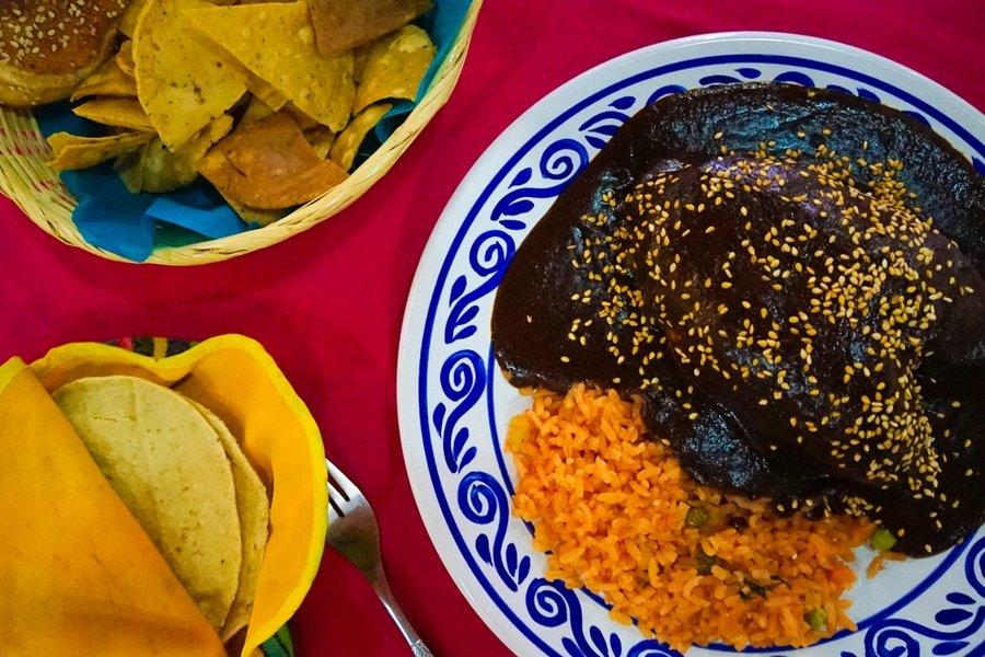 Mole Pueblano, Oaxaca, Mexico