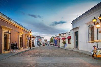 street of Oaxaca, Mexico