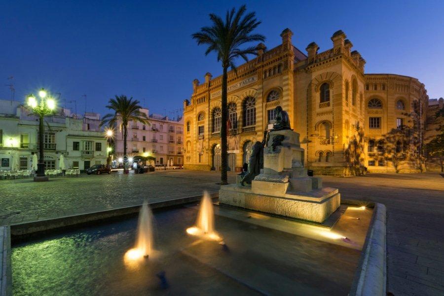 Gran Teatro Falla de Cadiz, Cadiz, Spain