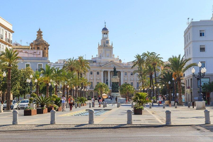 Plaza San Juan de Dios, Cadiz, Spain