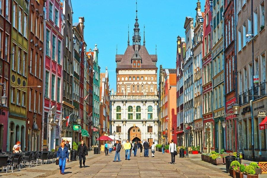 Dluga Street, Gdańsk , Poland