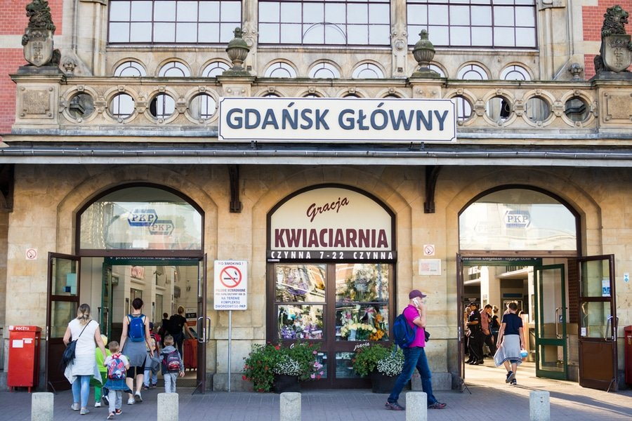 Gdańsk Glowny, Poland