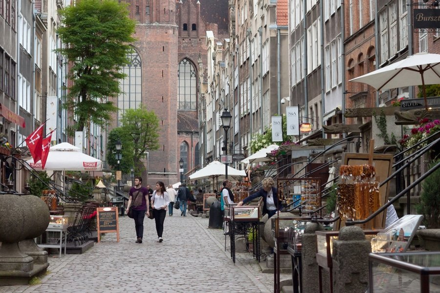 Mariacka street, Gdańsk , Poland