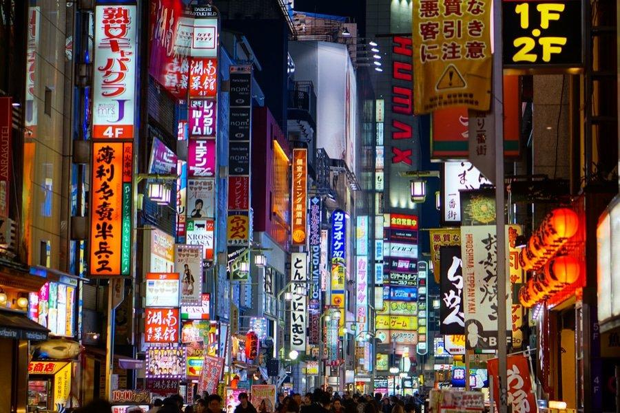 Kabukicho District, Tokyo, Japan