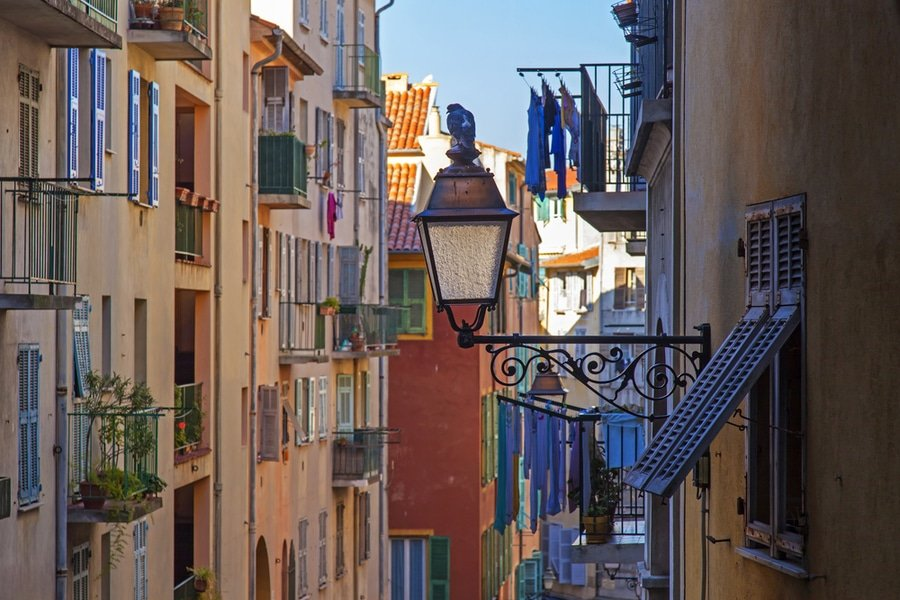 Old Town, Nice, France