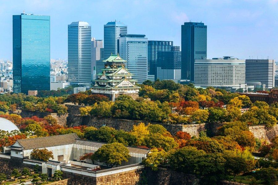 Osaka Castle, Osaka Japan