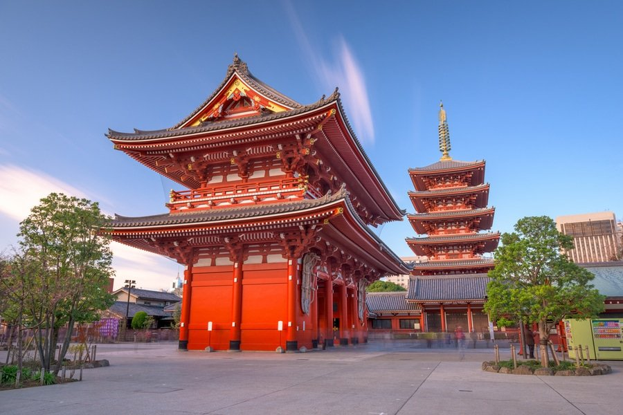 Senso-ji temple, Tokyo, Japan
