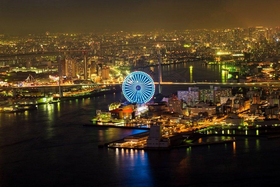 Tempozan Ferris Wheel, Osaka, Japan