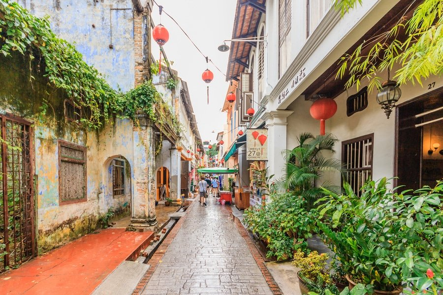 Concubine Lane, Old Town, Ipoh, Malaysia