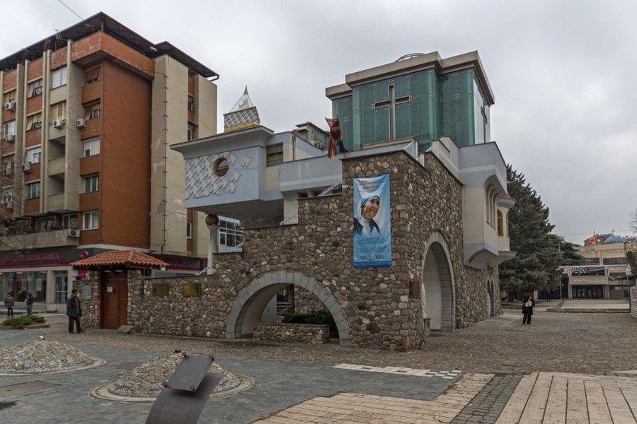 Memorial House Mother Teresa, Skopije, Macedonia