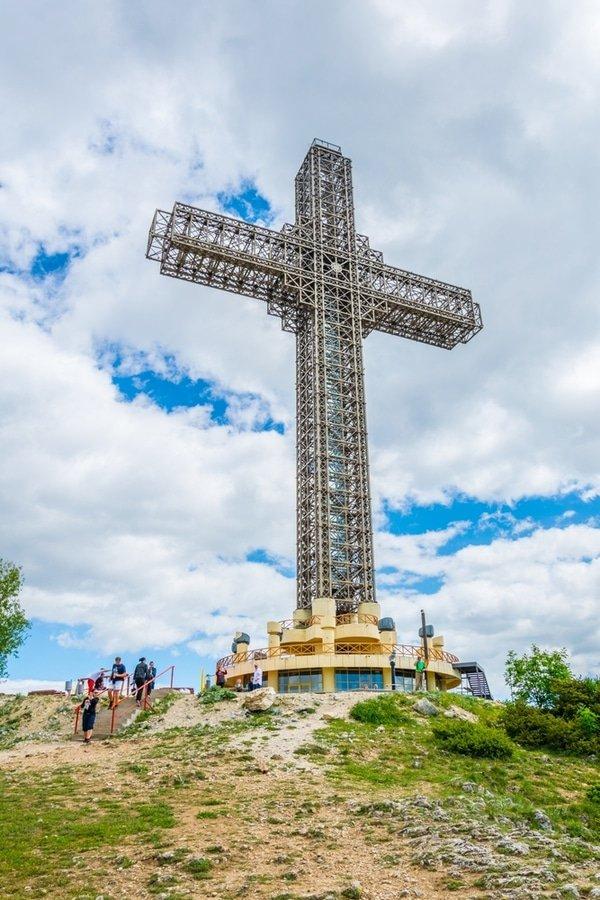 Millennium Cross, Skopije, Macedonia