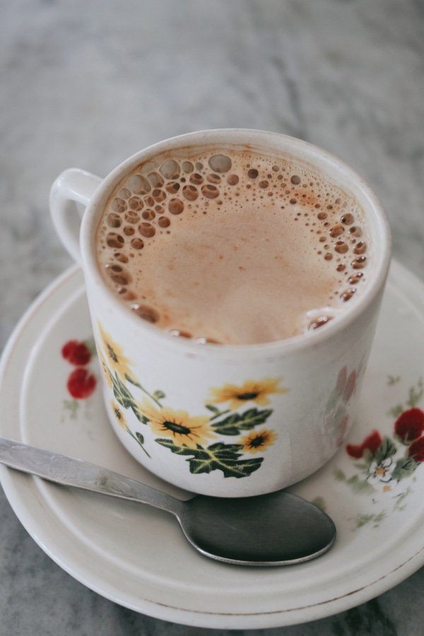 white coffee, Malaysia