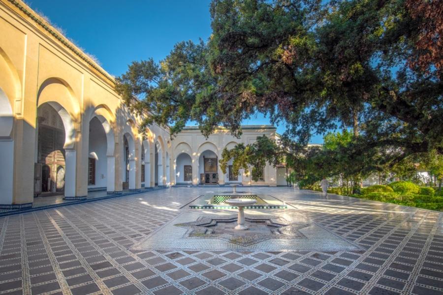 Batha Palace, Fes, Morocco