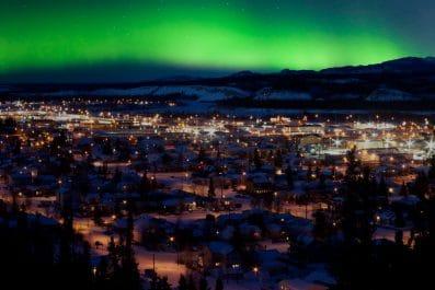 Aurora, Whitehorse, Yukon, Canada
