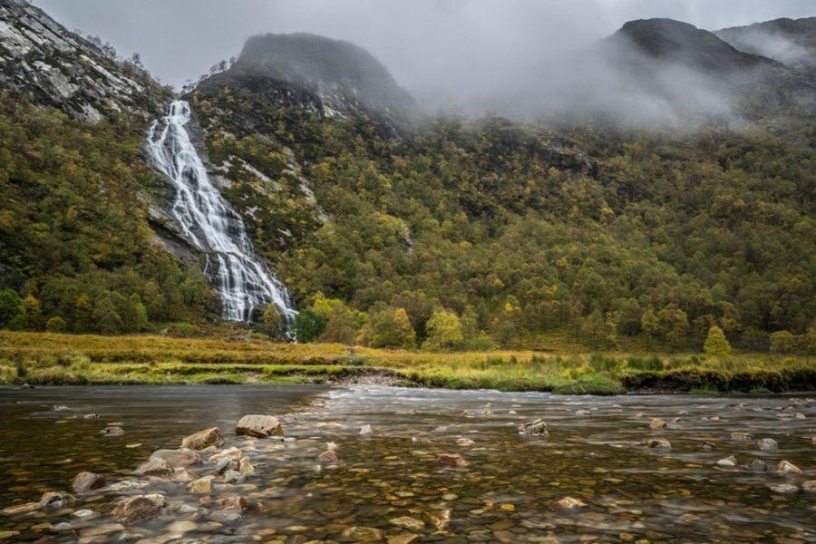 Steall Falls, Fort Williams, Scotland
