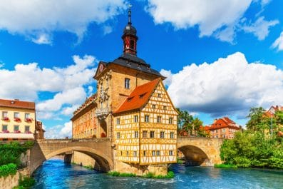 city hall, Bamberg, Germany