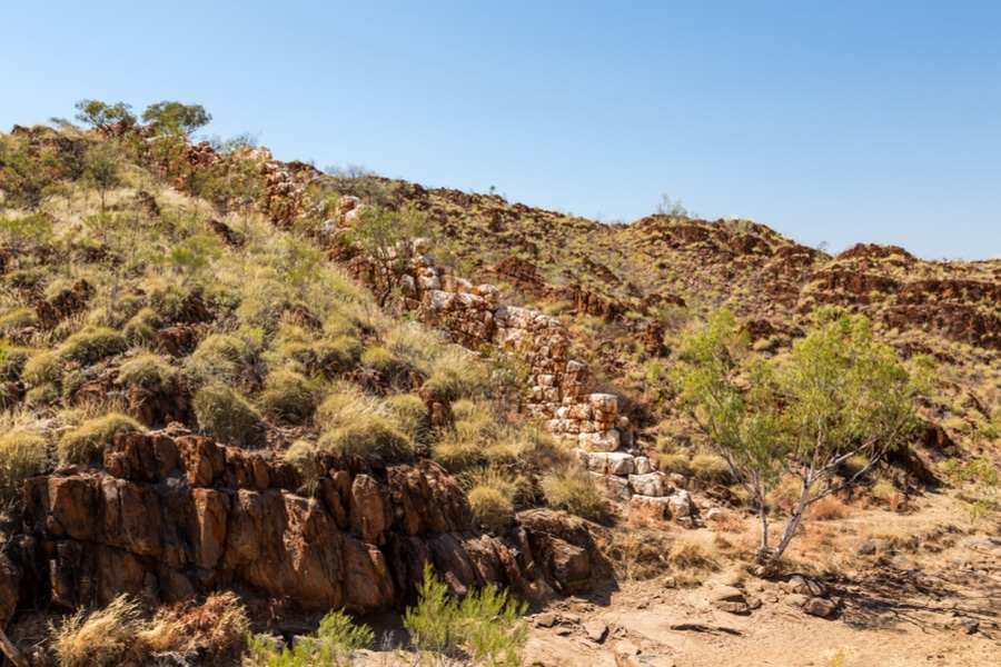 China Wall, Halls Creek, Australia