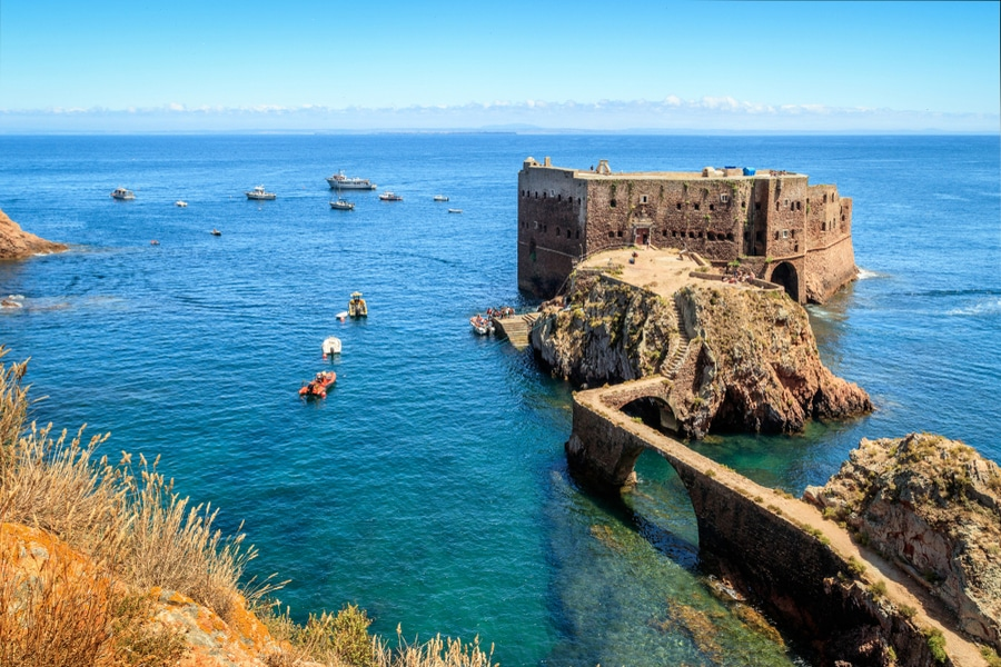 Fort São João Baptista of Berlengas, Portugal