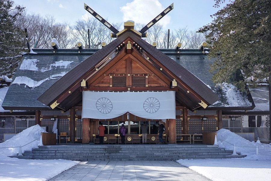 Hokkaido Shrine, Sapporo, Japan