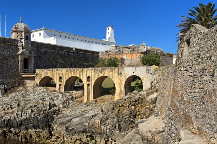 Peniche Fortress, Peniche, Portugal