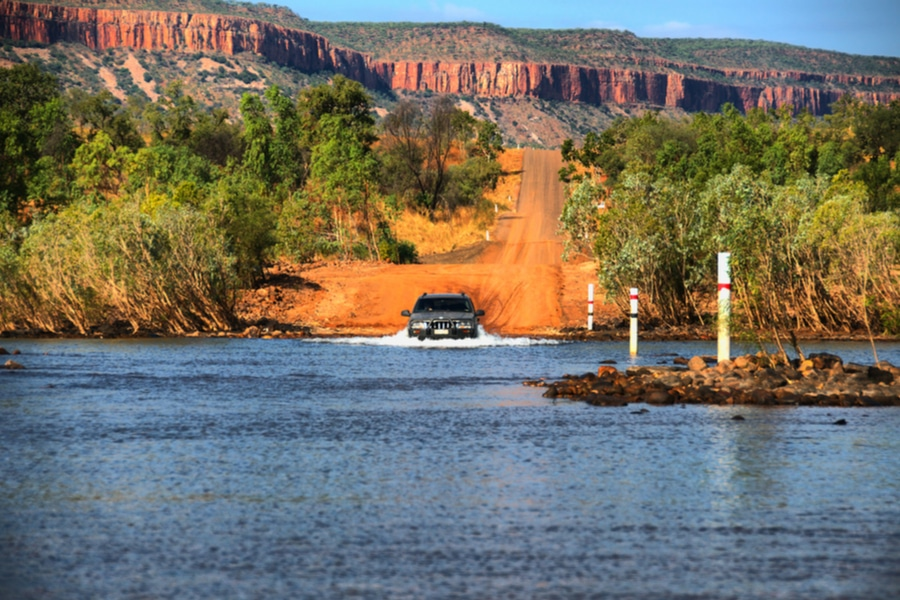 Pentecost River Crossing, Gibb River Road, West Australia