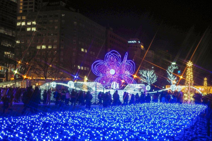 Sapporo White Illumination, Sapporo, Japan